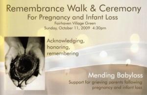Remembrance Walk Postcard